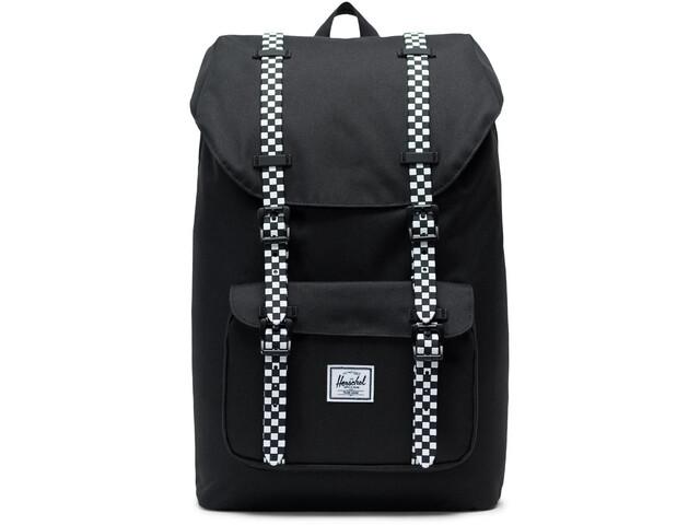 Herschel Little America Mid-Volume Backpack 17L, black/checkerboard